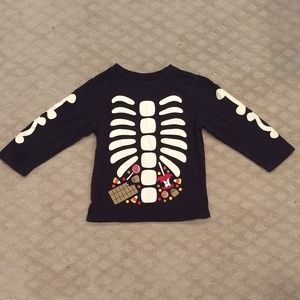 New listing! Skeleton long sleeve t-shirt